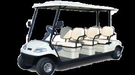 Xe điện sân golf 6 chỗ Lvtong