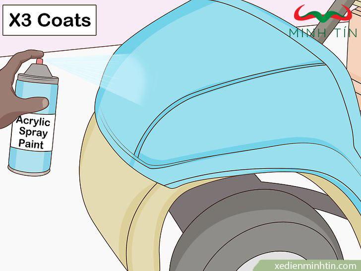 hướng dẫn sơn xe