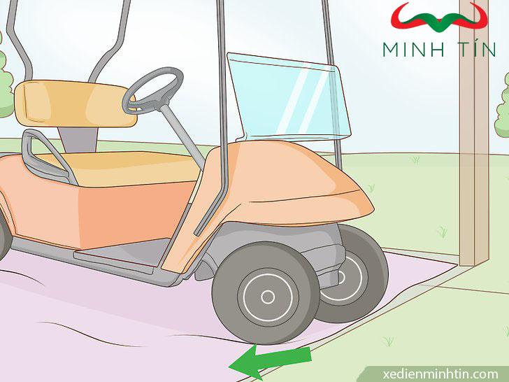 sơn xe điện sân golf