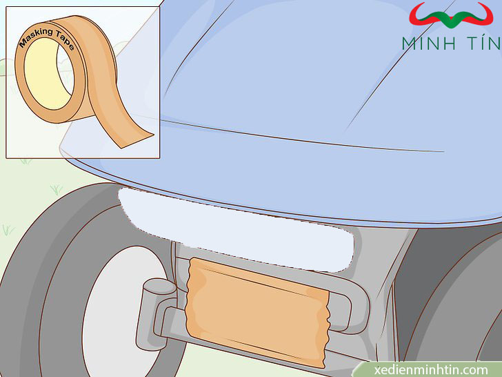 hướng dẫn sơn lại xe golf