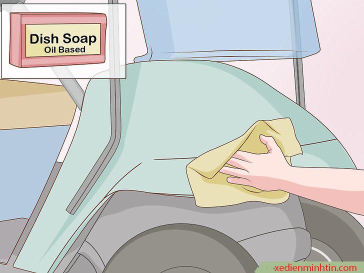 Làm sạch bề mặt cần sơn