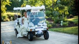 Sử dụng xe golf trong đám cưới của bạn là một lựa chọn thông minh
