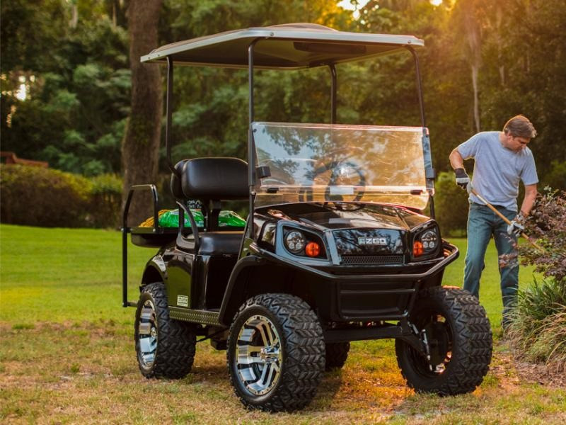 Xe điện sân golf cũ