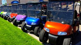 Nâng cấp tùy chỉnh cho xe điện sân golf