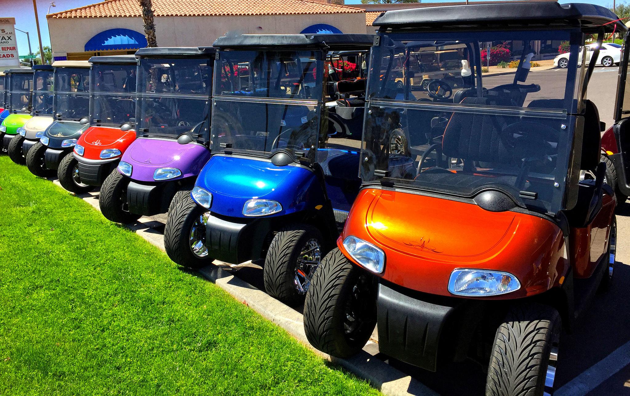 Xe điện sân golf cho thuê