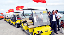 Tại sao nên sử dụng xe điện sân golf tại nơi nghỉ dưỡng