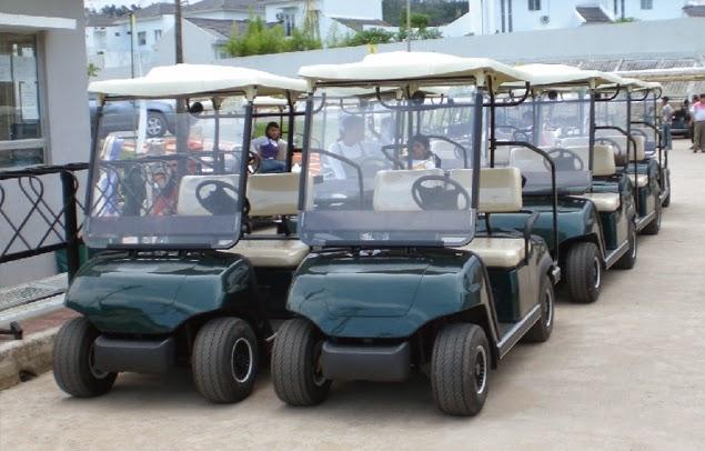xe điện san golf cũ
