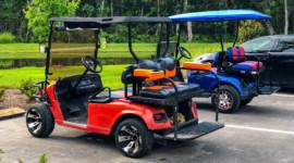 3 cách để gắn loa cho xe điện sân golf